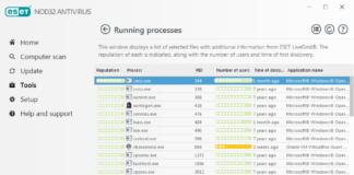 ابزار running process