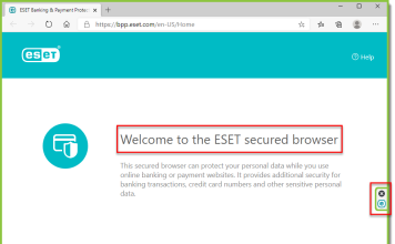 ابزار eset banking protection